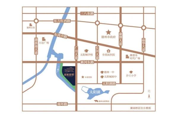 弘明澜湖郡区位图